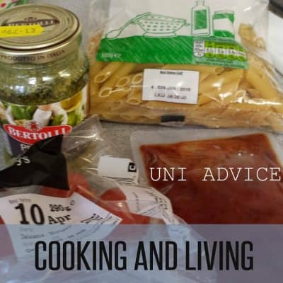 UNI ADVICE: COOKING AND LIVING