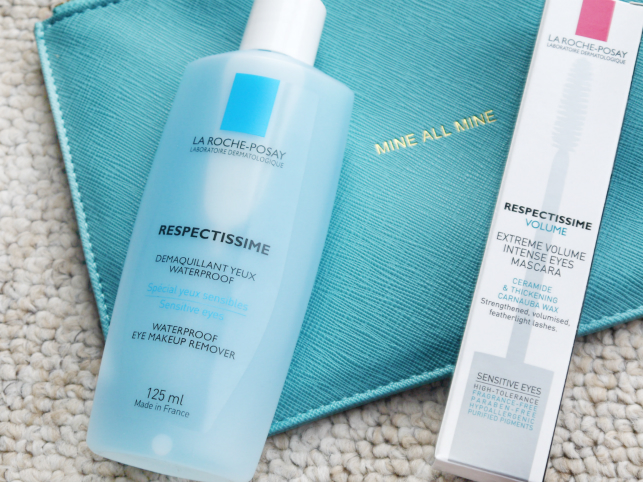 LA ROCHE POSAY RESPECTISSIME MAKEUP REMOVER AND VOLUME MASCARA