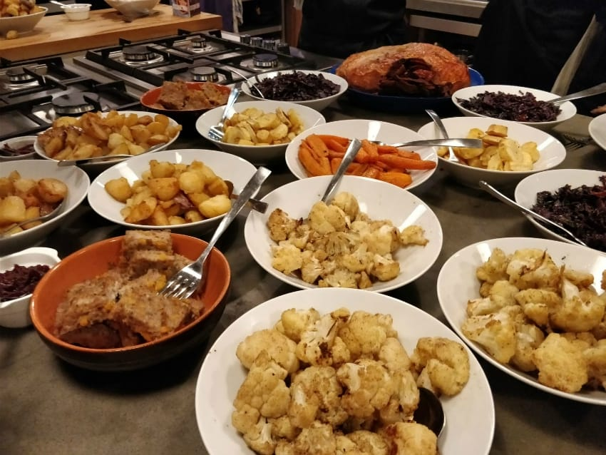 COOKING CHRISTMAS DINNER WITH AEG X CURRYS/PC WORLD