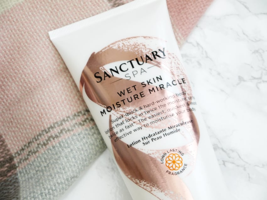 Sanctuary spa wet skin moisture miracle thebeautytype.com review