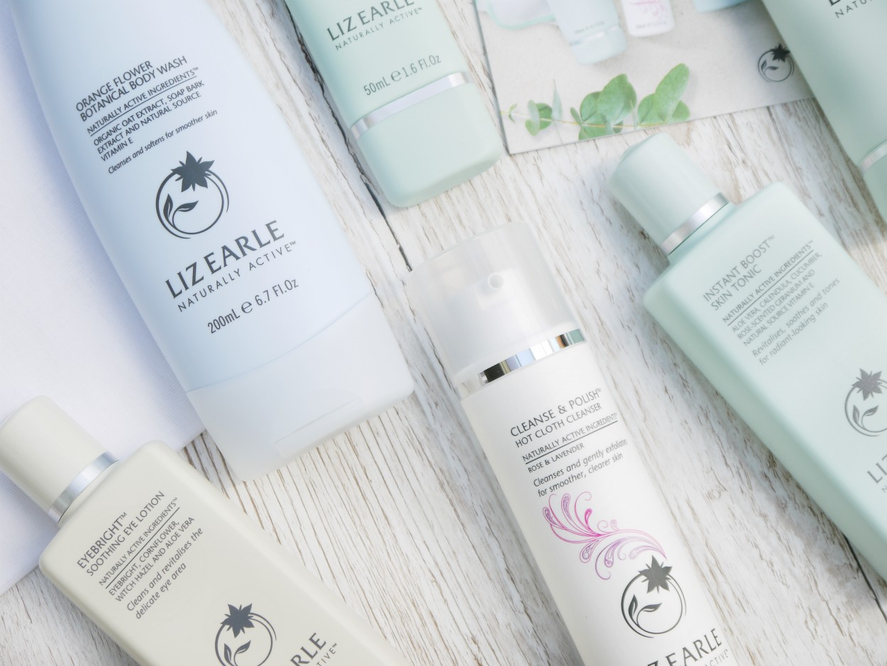 Liz Earle Haul QVC Special Buy Easy Payments review rose and lavender cleanse and polish toner thebeautytype.com the beauty type