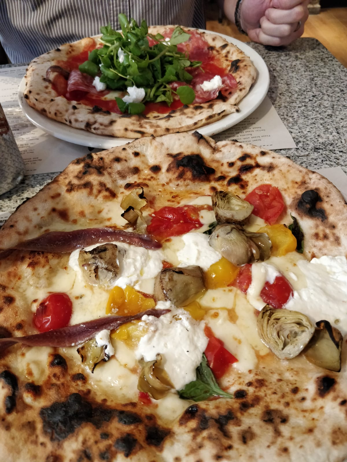 Franco Manca Pizza Cambridge thebeautytype beauty blog and lifestyle blog review