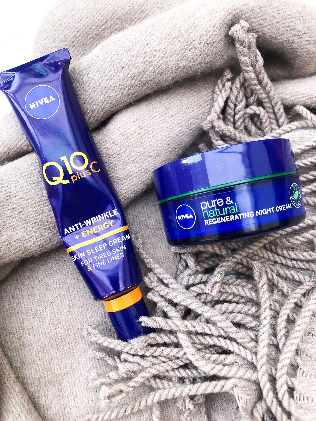 Nivea-Q10-Plus-C-Anti-Wrinkle-Energy-night-sleep-cream-regnerating-night-cream-nivea-uk-the-beauty-type