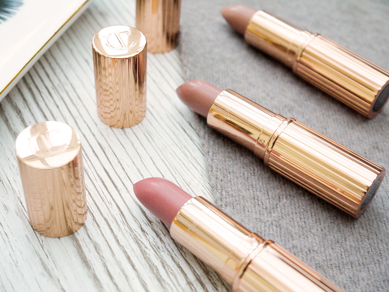 Charlotte Tilbury K.I.S.S.I.N.G lipsticks reviews nude kate bitch perfect penelope pink best selling lip products review thebeautytype.com The Beauty Type